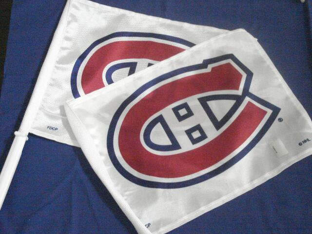 drapeau du Club de hockey Canadiens