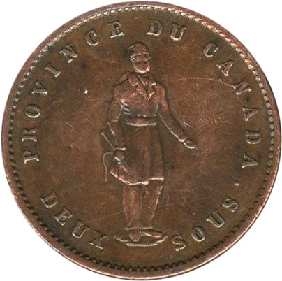 one Penny 1852